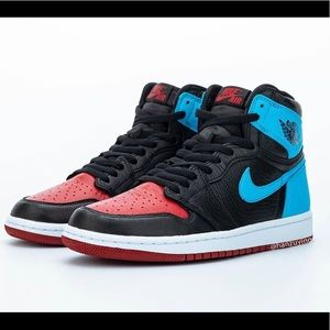Jordan 1's Retro High NC to Chi Leather Sneakers